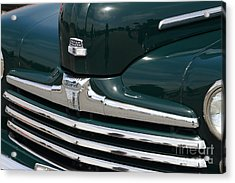 Classic Ford Super Deluxe 8 . 7d15265 Acrylic Print by Wingsdomain Art and Photography