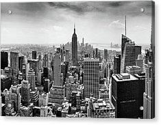 Classic New York  Acrylic Print by Az Jackson