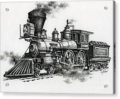 Classic Steam Acrylic Print by James Williamson