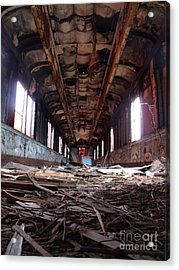 Clean Up On Isle 3 Please Acrylic Print by The Stone Age
