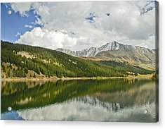 Clear Creek Reservior. Co Acrylic Print by James Steele