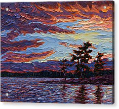 Clearing Skies Acrylic Print by Rob MacArthur