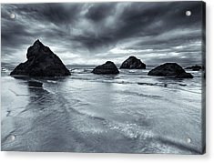 Clearing Storm Acrylic Print by Mike  Dawson