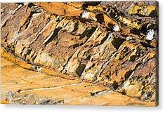 Cleavage In Rocks - Australia Acrylic Print by Steven Ralser