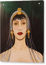 Cleo Acrylic Print by Leah Saulnier The Painting Maniac
