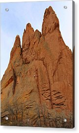 Climbing With The Gods Acrylic Print by Mike McGlothlen