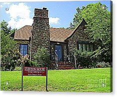 Clinton House Museum 1 Acrylic Print by Randall Weidner