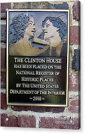 Clinton House Museum 2 Acrylic Print by Randall Weidner