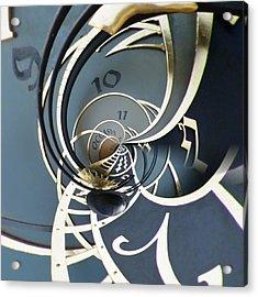 Clockface1  Acrylic Print by Philip Openshaw