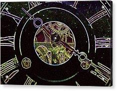 Clockwork Acrylic Print by Holly Ethan