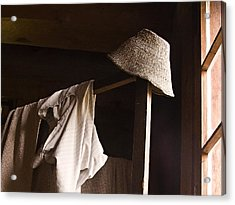 Clothes From Our Past Acrylic Print by Marion McCristall