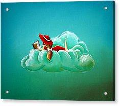 Cloud 9 Acrylic Print by Cindy Thornton