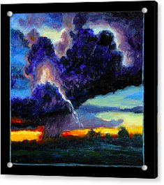 Clouds Number Six Acrylic Print by John Lautermilch