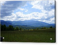 Clouds Over Cades Acrylic Print by Laurie Perry