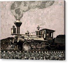 Coal Train To Kalamazoo Acrylic Print by Kerri Ertman