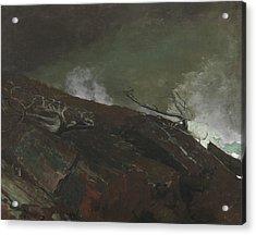 Coast Of Maine Acrylic Print by Winslow Homer