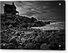 Coastal Home  Kennebunkport Maine Acrylic Print by Bob Orsillo