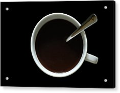 Coffee Cup Acrylic Print by Frank Tschakert