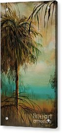 Cold Palm Marsh Acrylic Print by Michele Hollister - for Nancy Asbell