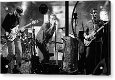 Coldplay 15 Acrylic Print by Rafa Rivas
