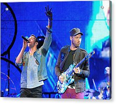 Coldplay6 Acrylic Print by Rafa Rivas