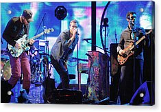 Coldplay7 Acrylic Print by Rafa Rivas