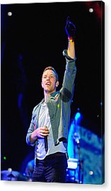 Coldplay8 Acrylic Print by Rafa Rivas