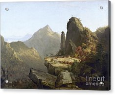 Cole: Last Of The Mohicans Acrylic Print by Granger