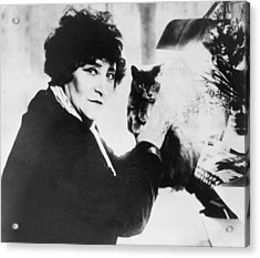 Colette 1873-1954 As The Most Honored Acrylic Print by Everett