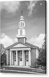 Colgate University Chapel House Acrylic Print by University Icons