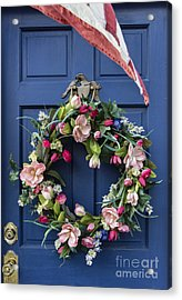 Colonial Door Acrylic Print by John Greim