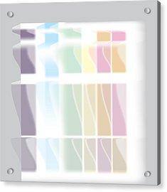 Color Condo Acrylic Print by Kevin McLaughlin