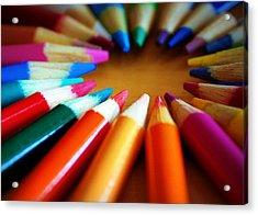 Color-ific Acrylic Print by Cricket Hackmann