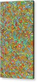 Color Order No.84 Acrylic Print by Radoslaw Zipper
