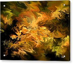 Color Storm Acrylic Print by Tom Romeo