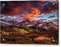 Colorado Color Acrylic Print by Andrew Soundarajan