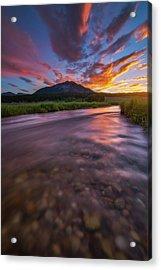 Colorado Morning Acrylic Print by Darren White