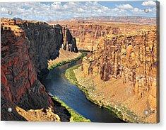 Colorado River At Marble Canyon Az Acrylic Print by Christine Till