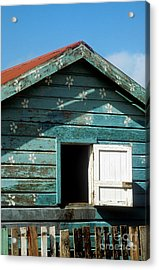 Colorful Shack Acrylic Print by John Greim