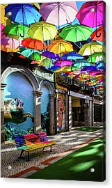 Colorful Street II Acrylic Print by Marco Oliveira