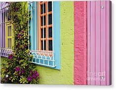 Colorful Walls Acrylic Print by Jeremy Woodhouse