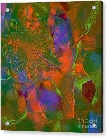 Coloring Art For The Living Acrylic Print by Fania Simon
