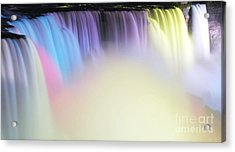Colors Acrylic Print by Kathleen Struckle