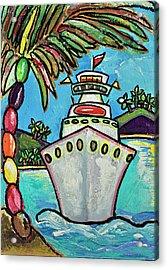Colors Of Cruising Acrylic Print by Patti Schermerhorn