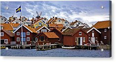 Colors Of Sweden Acrylic Print by Frank Tschakert