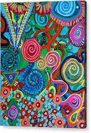 Colossal Undertaking Acrylic Print by Daina White
