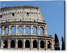 Colosseum Or Coliseum Acrylic Print by Edward Fielding