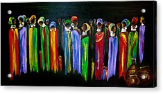 Colourful South Africa Acrylic Print by Marietjie Henning