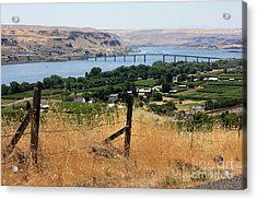 Columbia River - Biggs And Maryhill State Park Acrylic Print by Carol Groenen