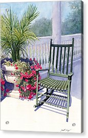Come Sit A Spell Acrylic Print by Janet King